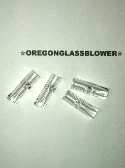 9mm Glass Filter Tips Flat End